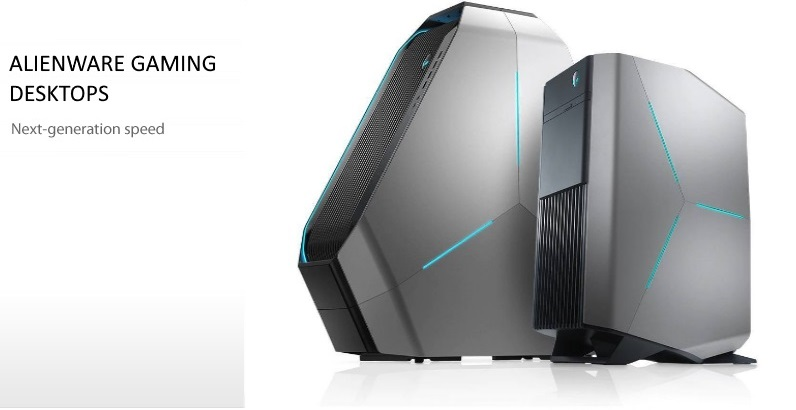 Dell ALIENWARE Gaming Desktops